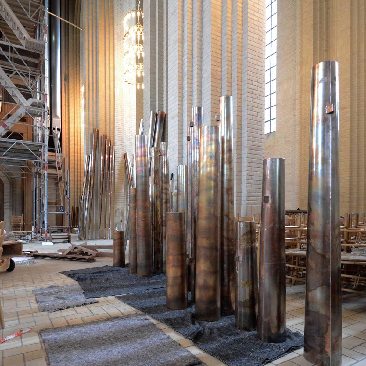 Grundtvigs Kirke · Ombygning