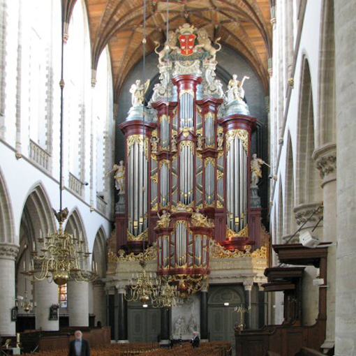 Grote of St. Bavo Kerk · Haarlem