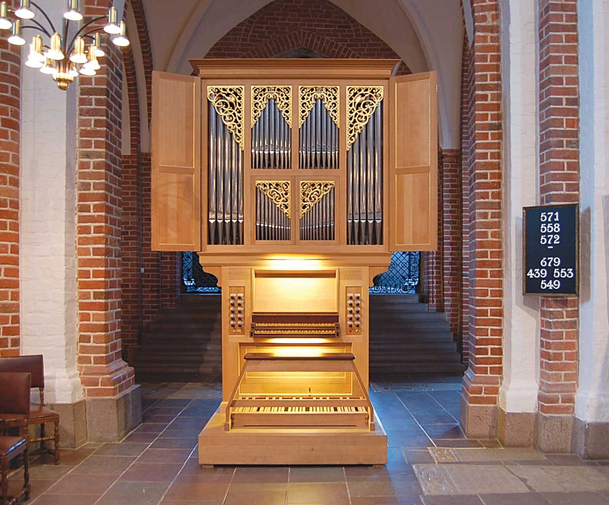 Roskilde Domkirke · Choir organ