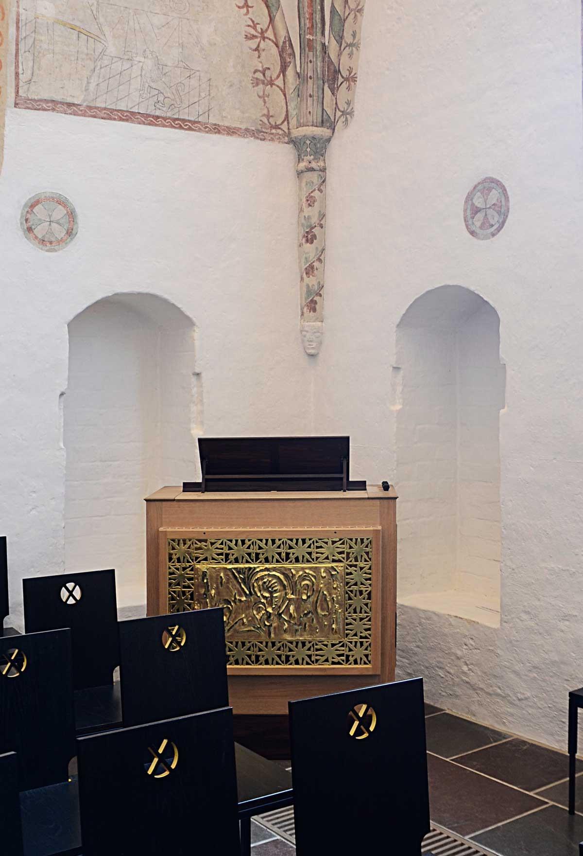 Roskilde Domkirke · Positiv
