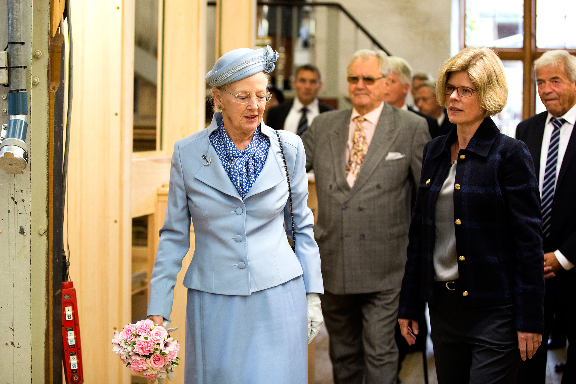 HM The Queen Margrethe and Prince Henrik visits Marcussen & Søn