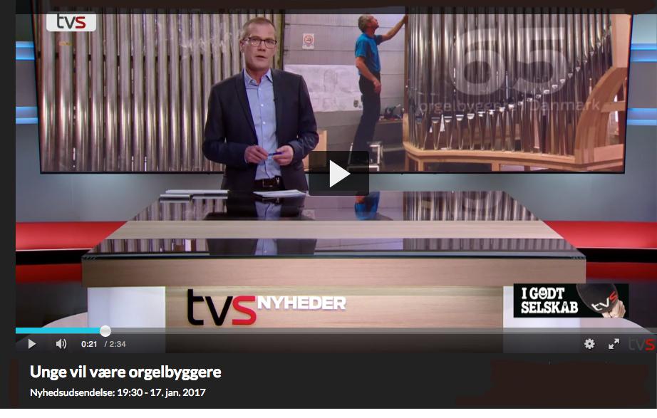 TV Syd besøgte Marcussen & Søn