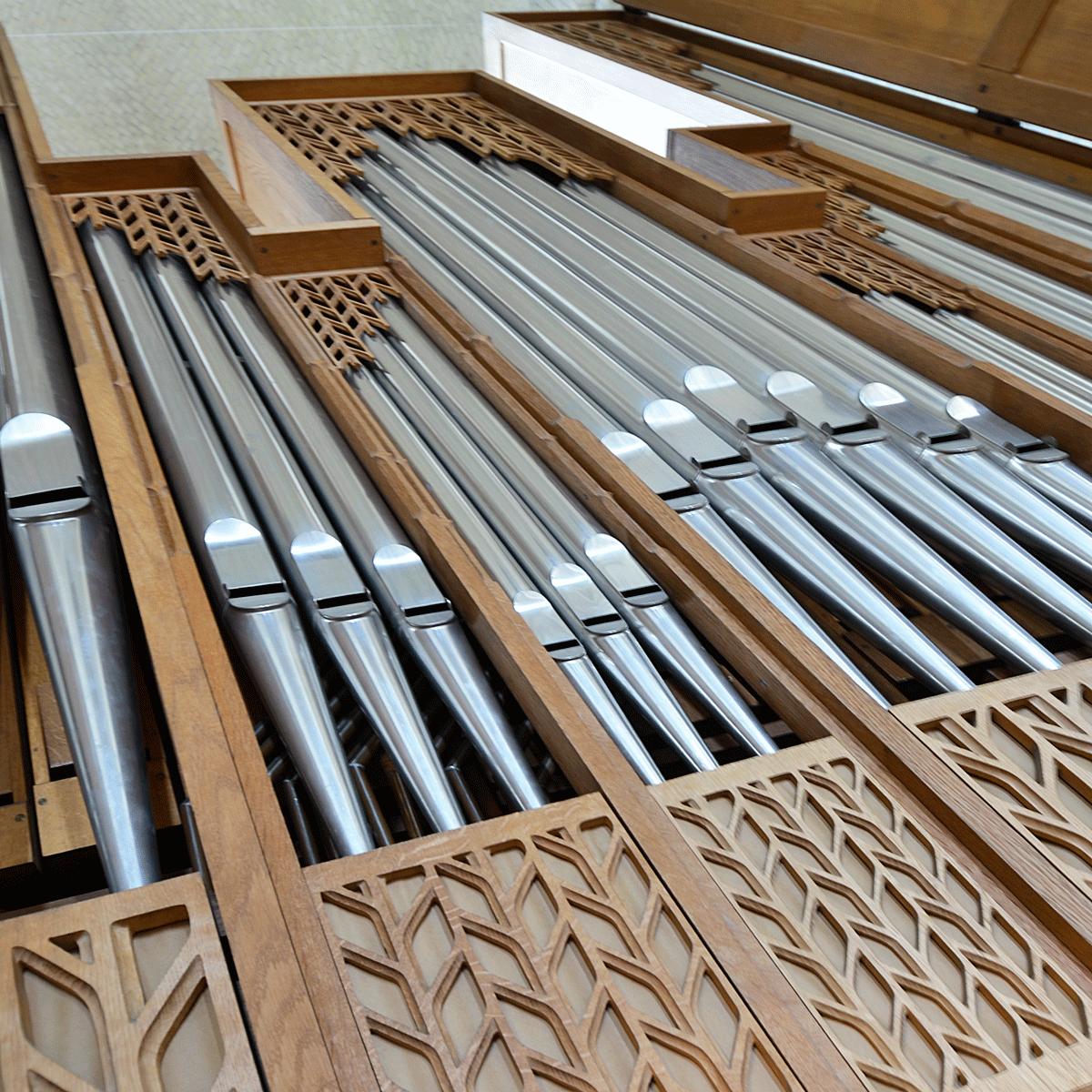 Grundtvigs Kirke · Kororgel