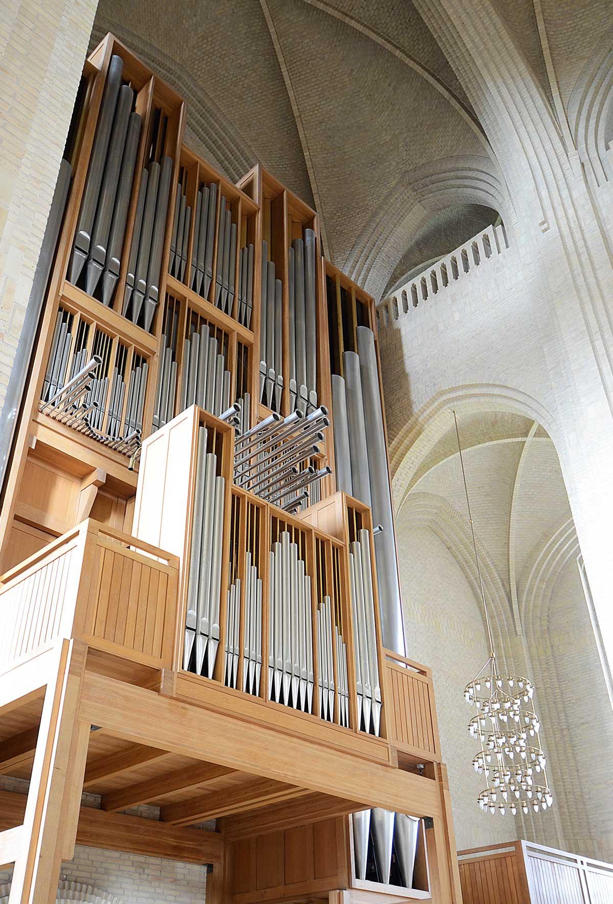 Grundtvig's Church· Main organ
