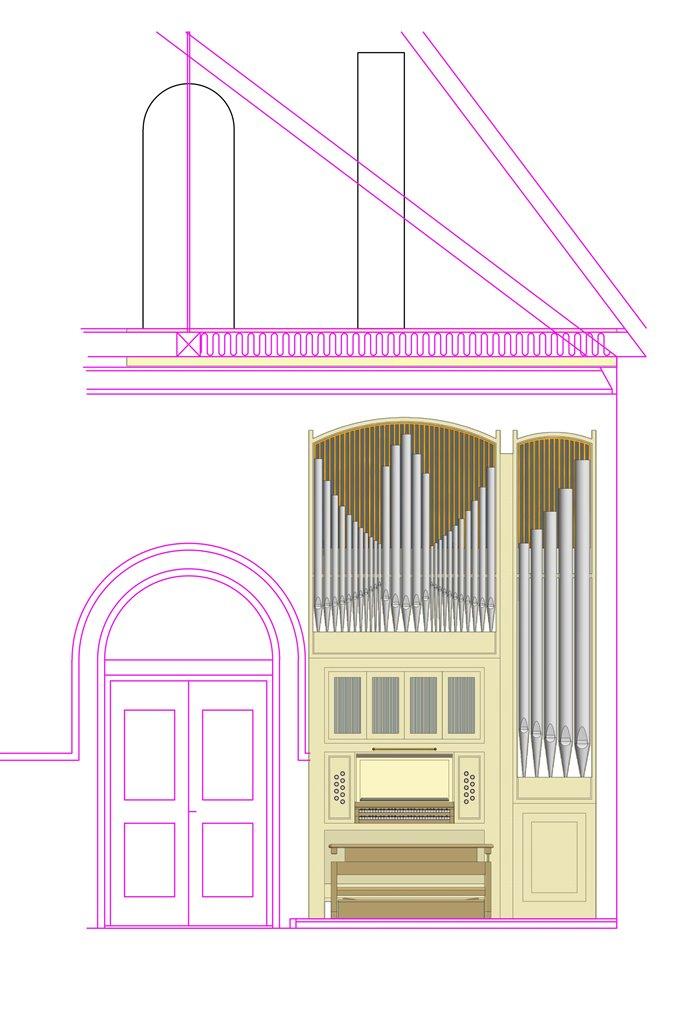 Forslag til nyt orgel