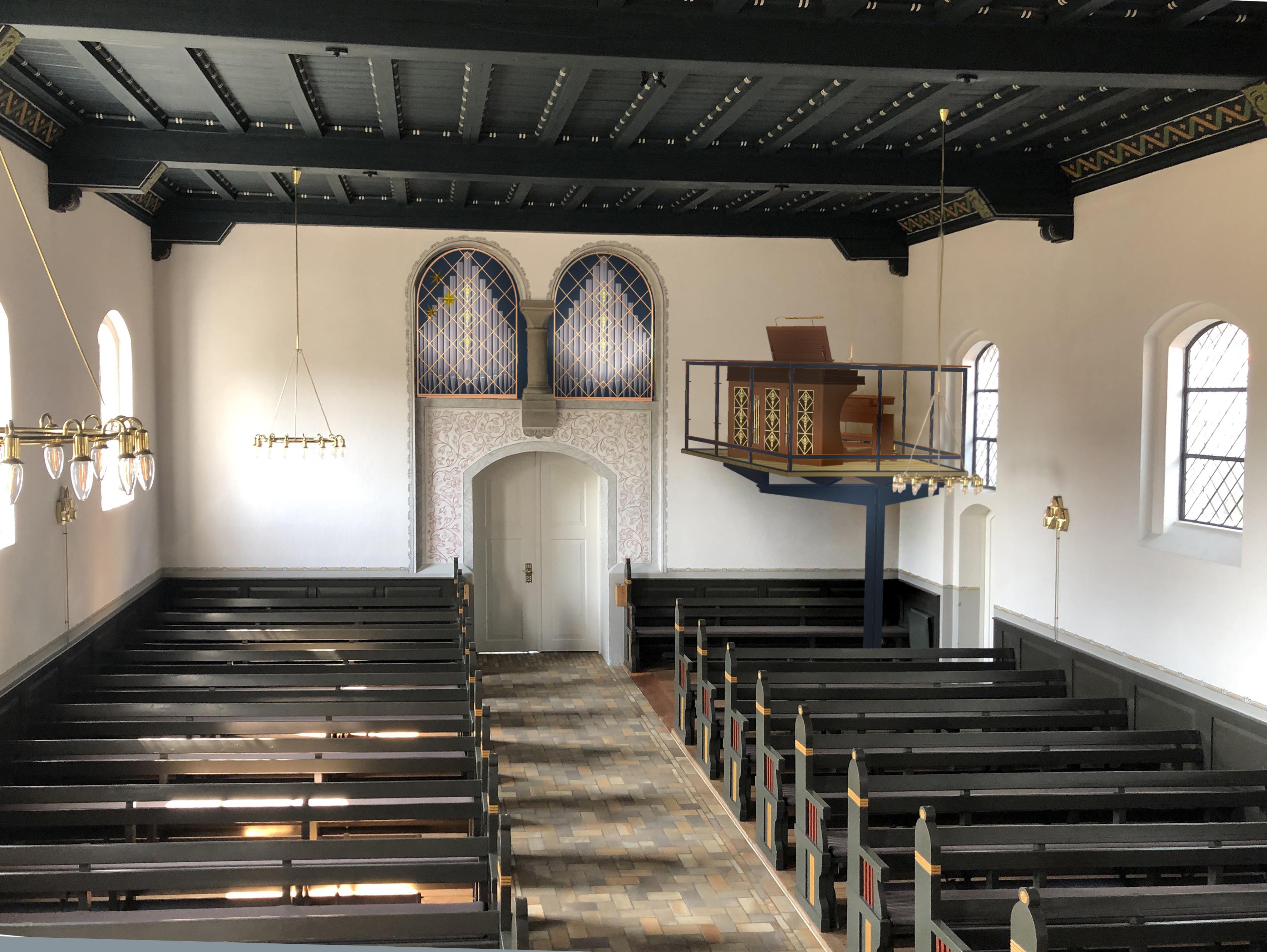 Ry Kirke -Nyt orgel