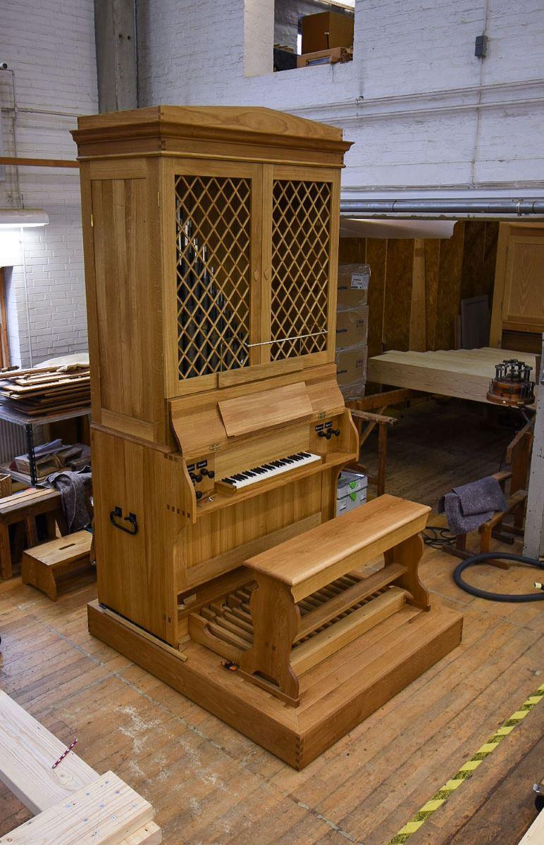 Jesu Hjerte kororgel i orgelsal